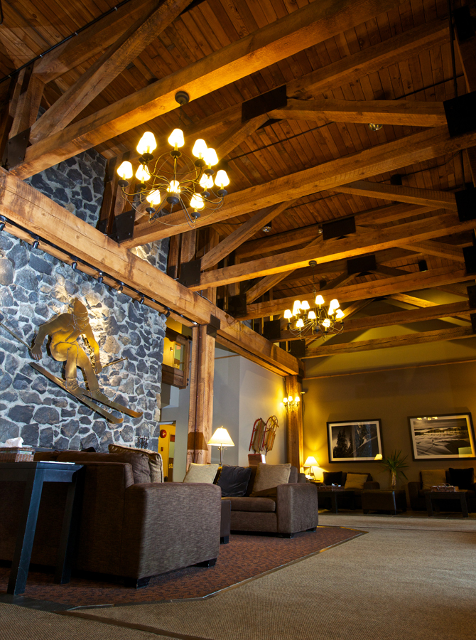 Tantalus Lodge Whistler foyer