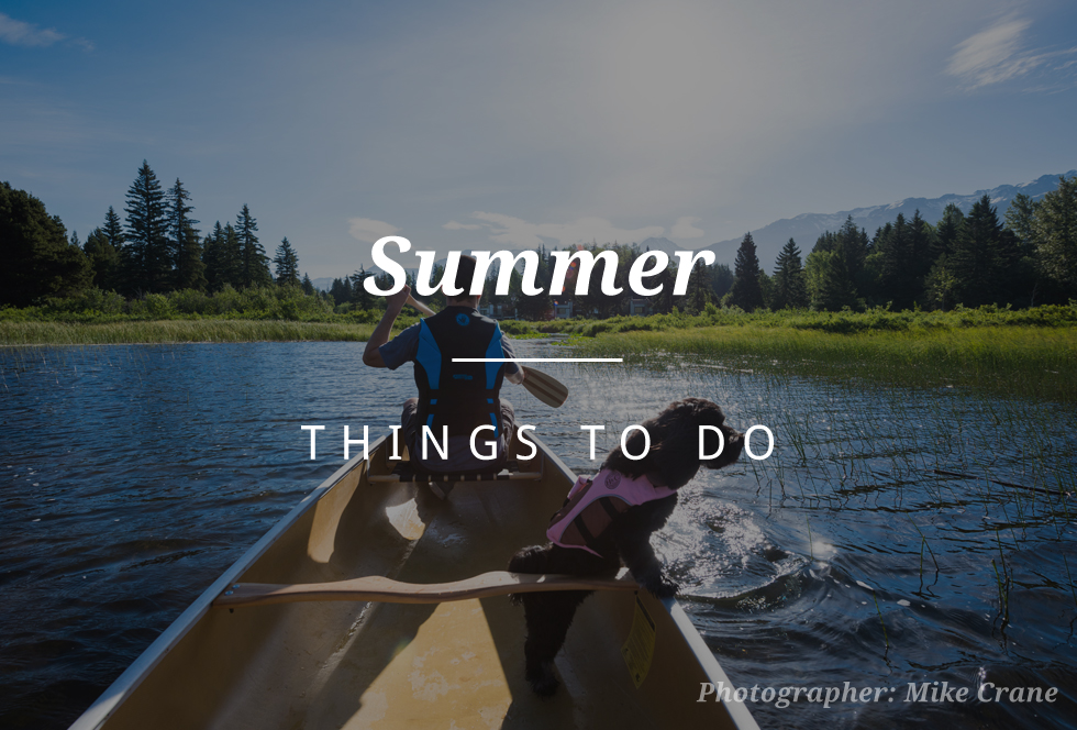 Things to do in Whistler - summer
