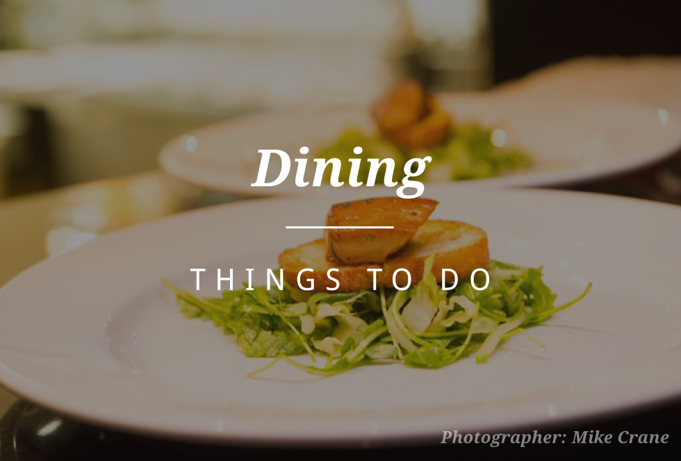 things to do in whistler - dining