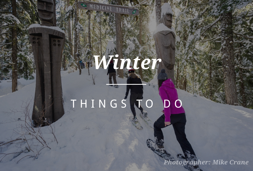 Winter things to do in Whistler